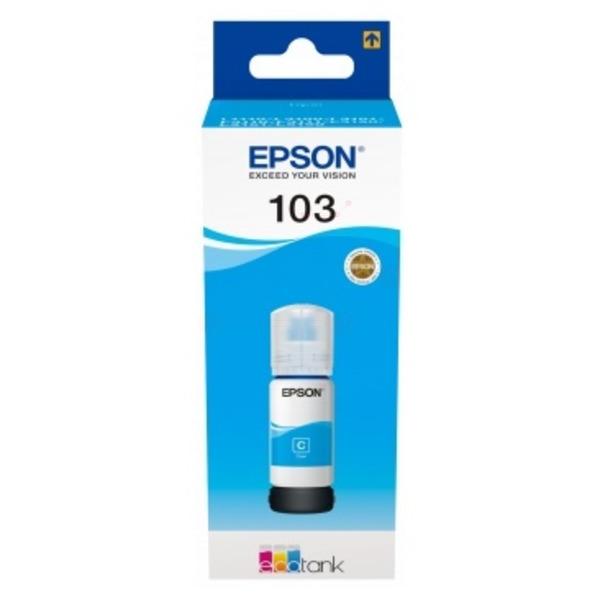 Original Epson C13T00S24A / 103 Tintenpatrone cyan