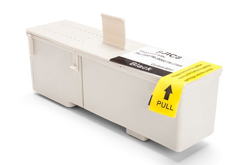 Kompatibel zu Epson C33S020407 / SJIC8K Tinte Schwarz