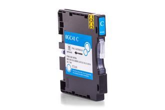 Kompatibel zu Ricoh 405766 / GC 41CL Gelkartusche Cyan