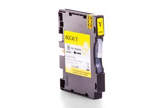 Kompatibel zu Ricoh 405768 / GC 41YL Gelkartusche Gelb