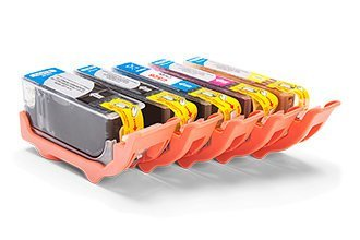 Compatible Canon 4540B001 / CLI-526BK Ink cartridge Set (Black, Photo Black, Cyan, Magenta, Yellow)