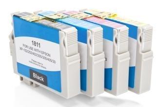 Kompatibel zu Epson C13T18164010 / 18 XL Tinten Spar-Set (Schwarz, Cyan, Magenta, Gelb)