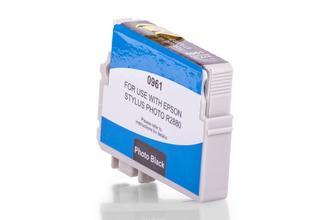Kompatibel zu Epson C13T09614010 / T0961 Tinte Schwarz