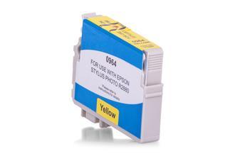 Kompatibel zu Epson C13T09644010 / T0964 Tinte Gelb