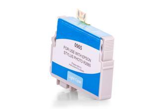 Kompatibel zu Epson C13T09654010 / T0965 Tinte Cyan (Hell)