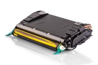 Kompatibel zu Lexmark C736H1YG Toner Gelb