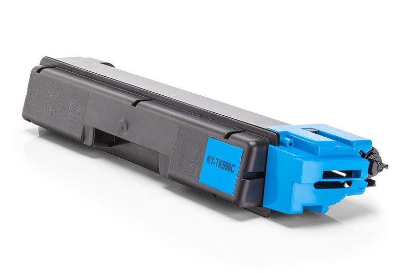 Kompatibel zu Kyocera 1T02KVCNL0 / TK-590C Toner Cyan XL