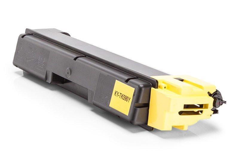 Kompatibel zu Kyocera 1T02KVANL0 / TK-590Y Toner Gelb XL