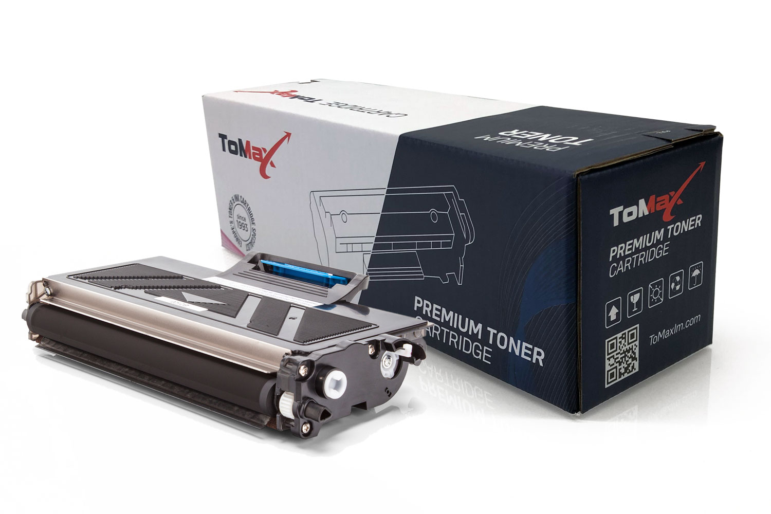 ToMax Premium Toner Cartridge replaces Brother TN-2220 Black