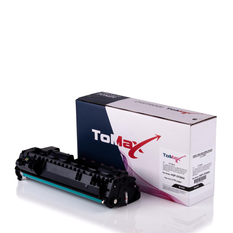 ToMax Premium Toner ersetzt HP CF280A / 80A Schwarz