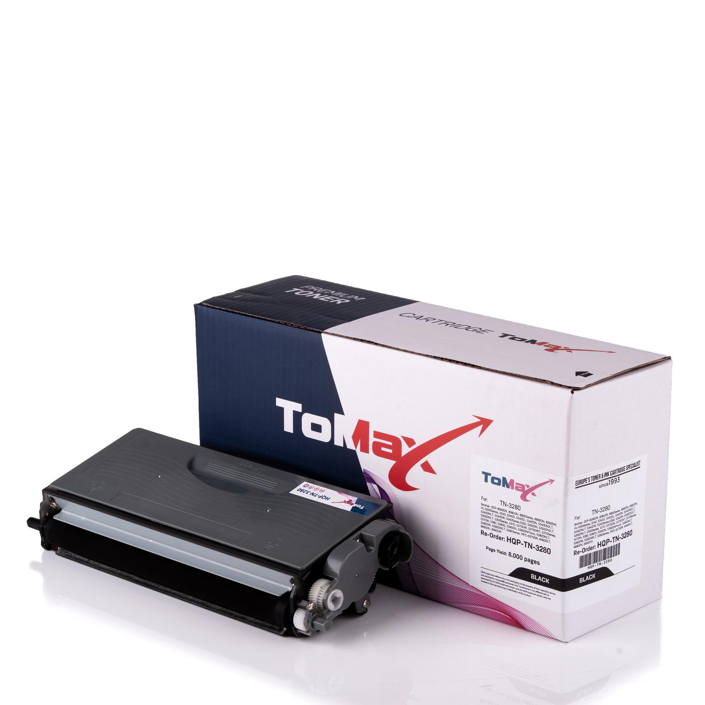 ToMax Premium Toner ersetzt Brother TN-3280 Schwarz