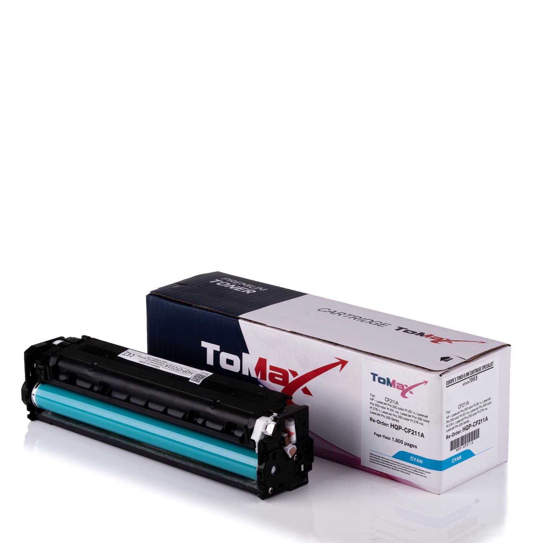 ToMax Premium Toner ersetzt HP CF211A / 131A Cyan