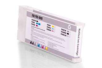 Kompatibel zu Epson C13T606500 / T6065 Tinte Cyan (Hell)