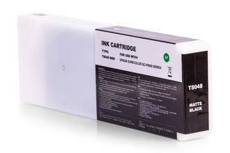 Kompatibel zu Epson C13T804800 / T8048 Tinte Schwarz matt