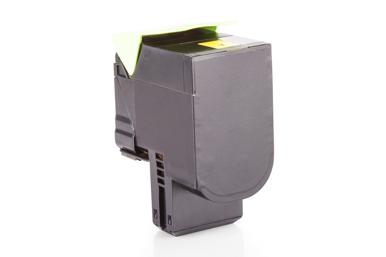 Kompatibel zu Lexmark 80C0S40 / 800S4 Toner Gelb