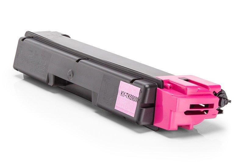 Cartouche de toner Compatible Kyocera 1T02KVBNL0 / TK-590M Magenta XL