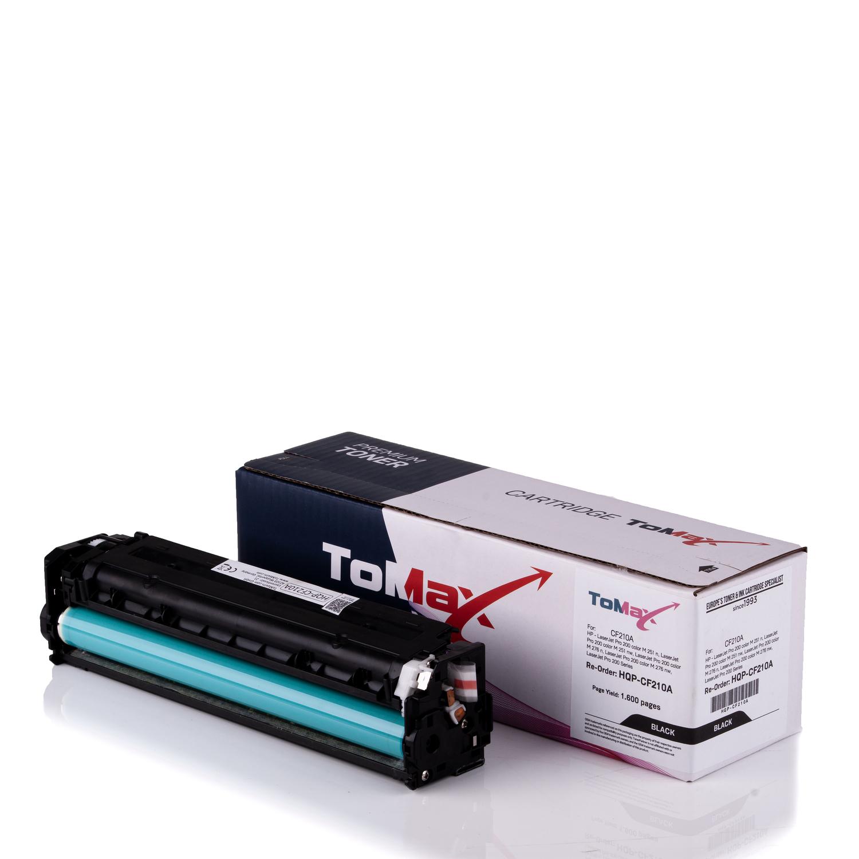 ToMax Premium Toner ersetzt HP CF210A / 131A Schwarz