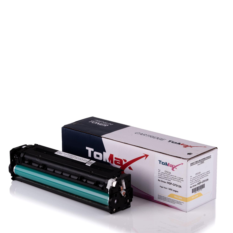 ToMax Premium Toner ersetzt HP CF212A / 131A Gelb