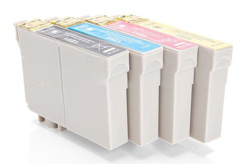 Kompatibel zu Epson C13T12954010 / T1295 Tinte Spar-Set (Schwarz, Cyan, Magenta, Gelb)