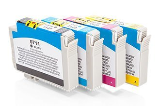 Kompatibel zu Epson C 13 T 07154010 / T0715 Tintenpatrone MultiPack