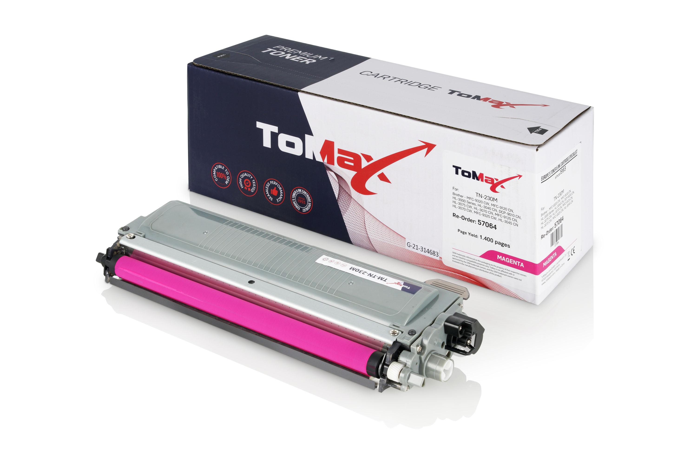 ToMax Premium Toner ersetzt Brother TN-230M Magenta