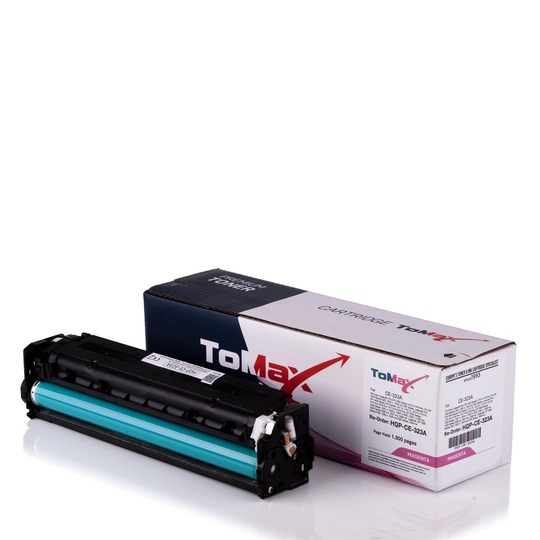 ToMax Premium Toner ersetzt HP CE323A / 128A Magenta