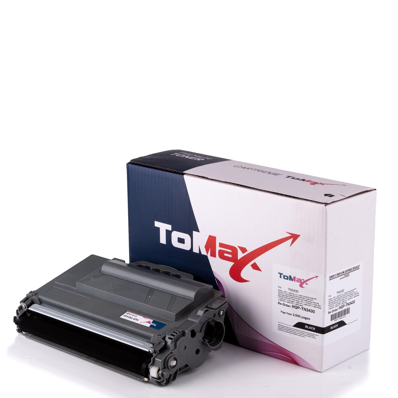 Cartouche de toner HQ-Premium remplace la Brother TN-3430 Noir