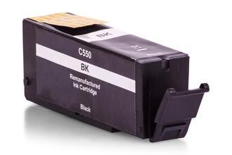 Cartouche d'Encre Compatible Canon 6496B001 / PGI-550PGBK Noir photo