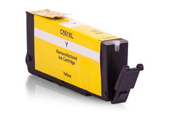 Kompatibel zu Canon 6511B001 / CLI-551Y Tinte Gelb