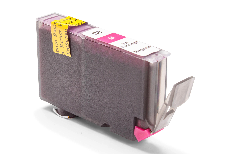 Kompatibel zu Canon 0622B001 / CLI-8M Tintenpatrone magenta mit Chip