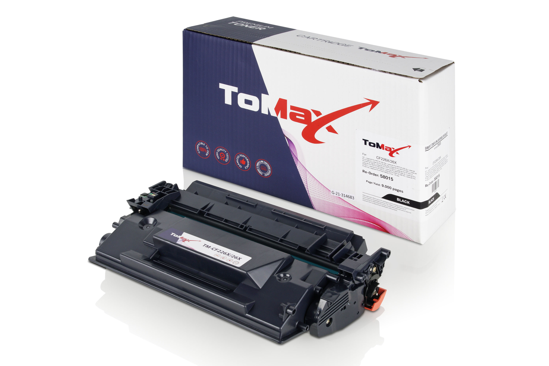 ToMax Premium Toner ersetzt HP CF226X / 26X Schwarz