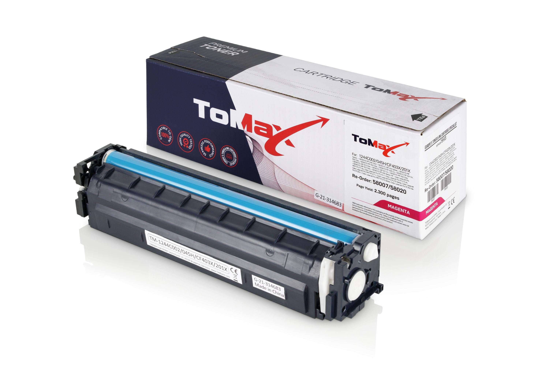 ToMax Premium Toner ersetzt HP CF403X / 201X Magenta