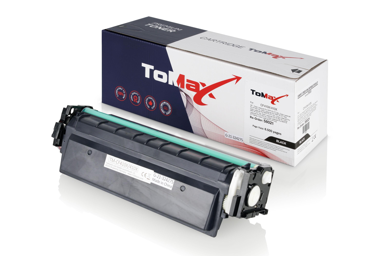 ToMax Premium Toner ersetzt HP CF410X / 410X Schwarz