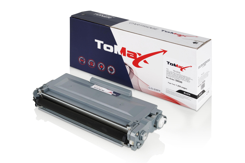 ToMax Premium Toner ersetzt Brother TN-2210 Schwarz