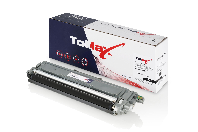 ToMax Premium Toner ersetzt Brother TN-247BK Schwarz