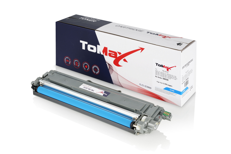 ToMax Premium Toner ersetzt Brother TN-247C Cyan