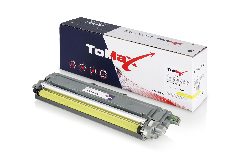 ToMax Premium Toner ersetzt Brother TN-247Y Toner Gelb