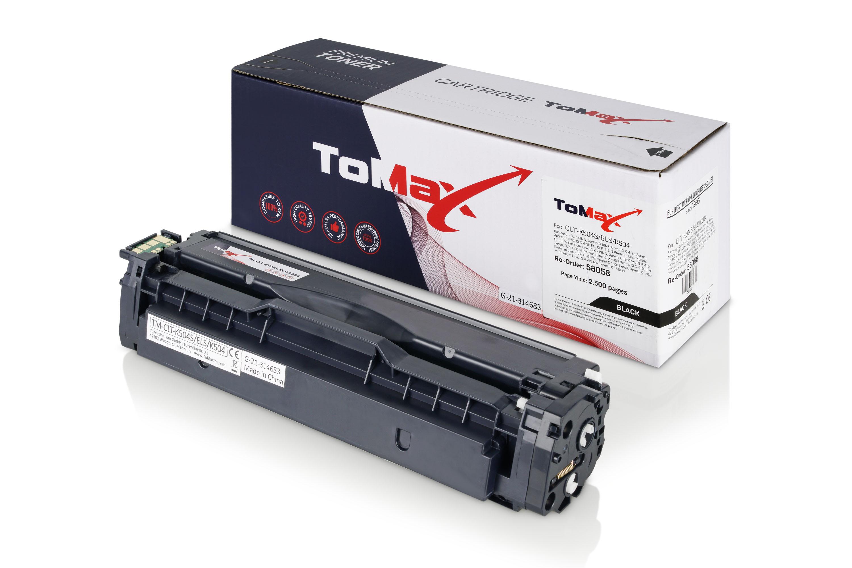 ToMax Premium Toner ersetzt Samsung CLT-K504S (SU158A) / K504S Schwarz