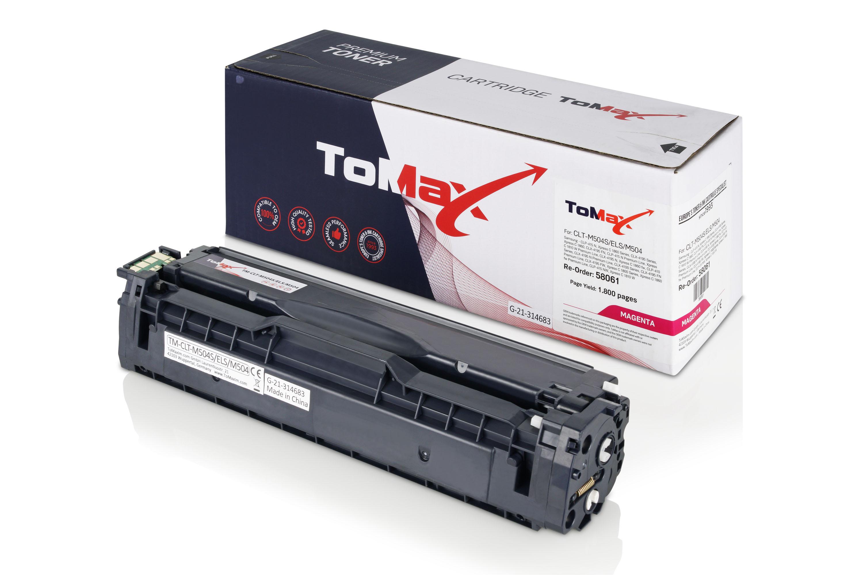 ToMax Premium Toner ersetzt Samsung CLT-M504S (SU292A) / M504S Magenta