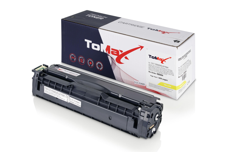 ToMax Premium Toner ersetzt Samsung CLT-Y504S (SU502A) / Y504S Gelb