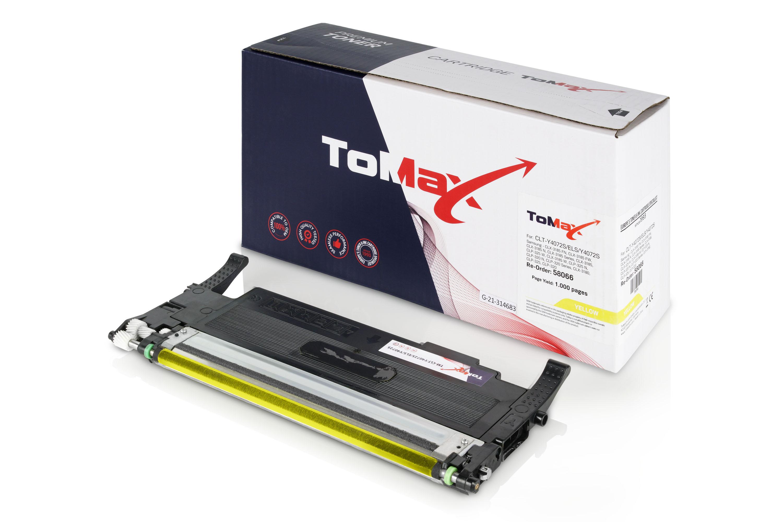 ToMax Premium Toner ersetzt Samsung CLT-Y4072S (SU472A) / Y4072S Gelb