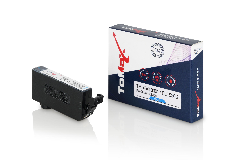 ToMax Premium Tintenpatrone ersetzt Canon 4541B001 / CLI526 Cyan