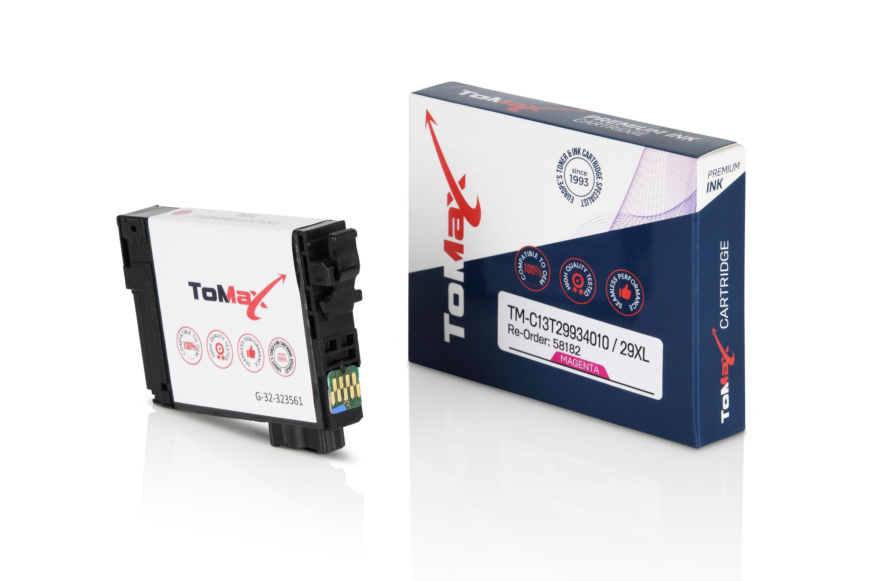 ToMax Premium Tintenpatrone ersetzt Epson C13T29934010 / 29XL Magenta