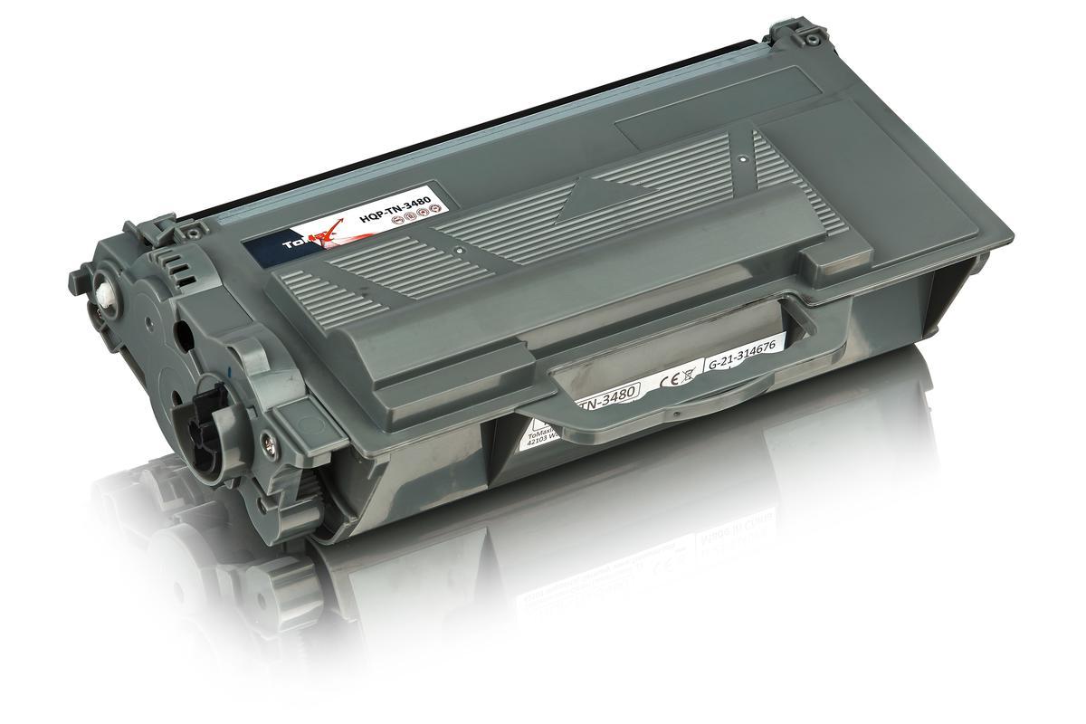 ToMax Premium alternative à Brother TN-3480 Cartouche toner, noir