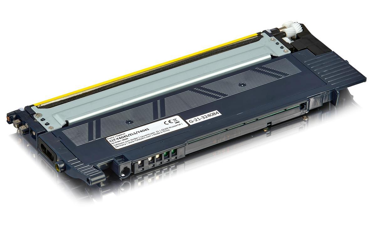 Kompatibel zu Samsung CLT-Y404S/ELS / Y404S Tonerkartusche, gelb
