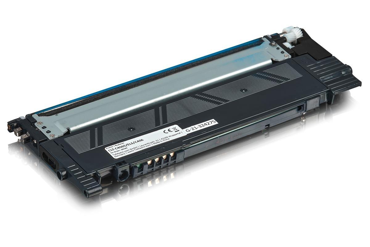 Kompatibel zu Samsung CLT-C406S/ELS / C406 Tonerkartusche, cyan