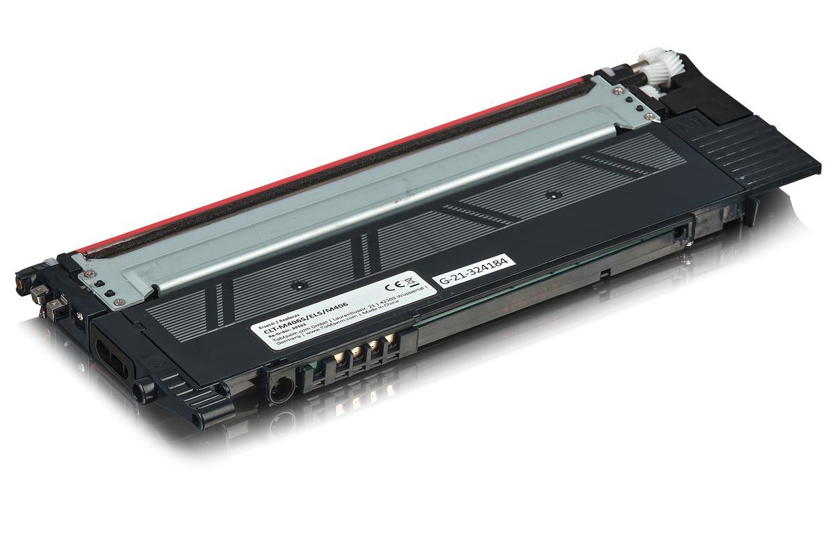 Kompatibel zu Samsung CLT-M406S/ELS / M406 Tonerkartusche, magenta