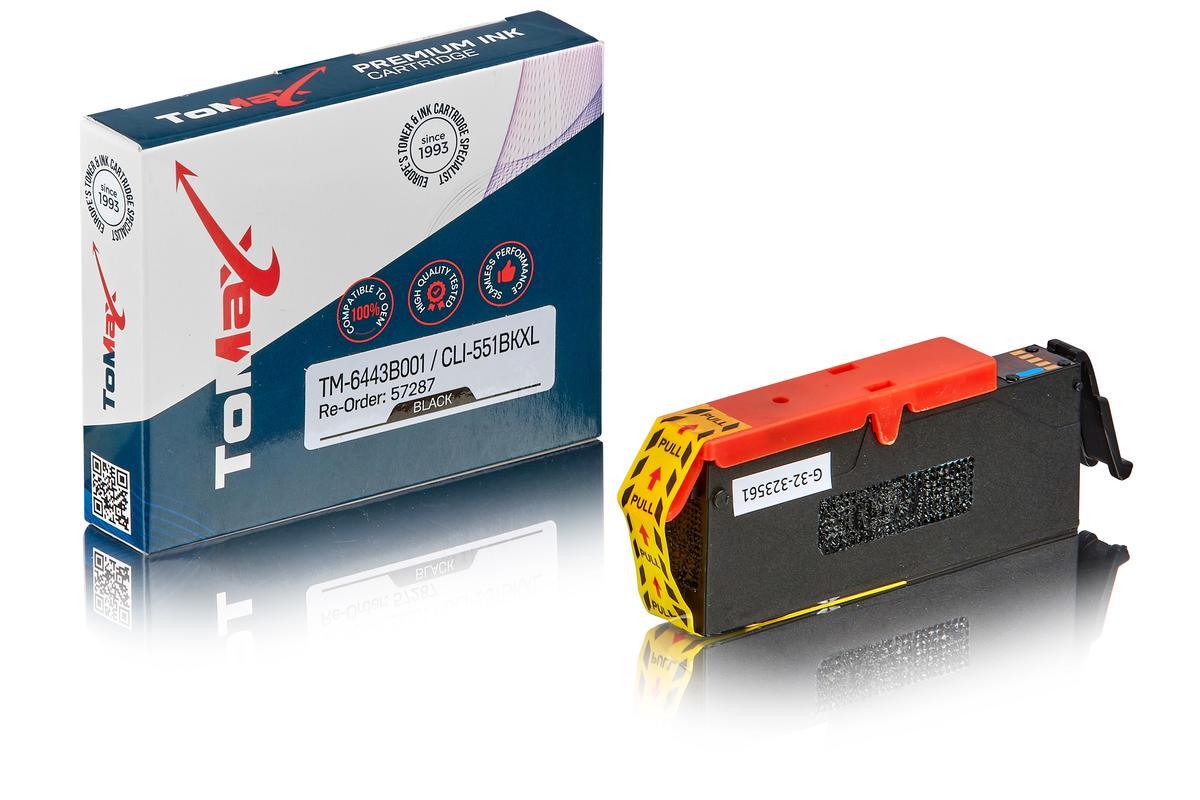 ToMax Premium ersetzt Canon 6443B001 / CLI-551BKXL Tintenpatrone, schwarz