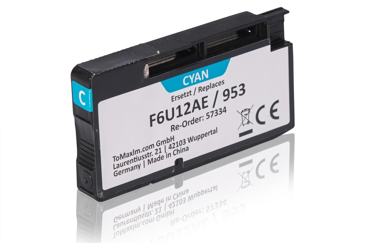 Kompatibel zu HP F6U12AE / 953 Tintenpatrone, cyan