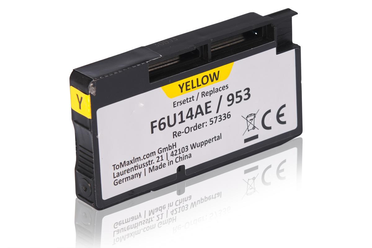 Kompatibel zu HP F6U14AE / 953 Tintenpatrone, gelb